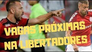 Flamengo e Internacional vencem, rumam à classificação, mas ainda precisam evoluir