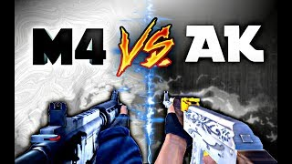 AK vs. M4 • Critical Ops