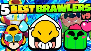 Top 5 BEST Brawlers in Brawl Stars v9! This Legendary is OP! (October 2020)