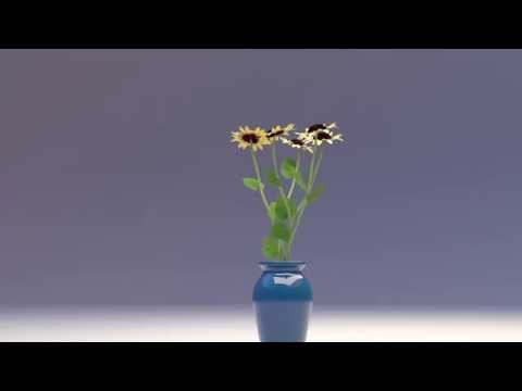 Flowers 3D Model 3DS MAX CGI