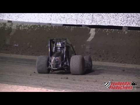 Bruce St. James flip - USA Raceway 3/21/15