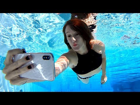 Download Youtube: iPhone X Underwater Face ID Test!