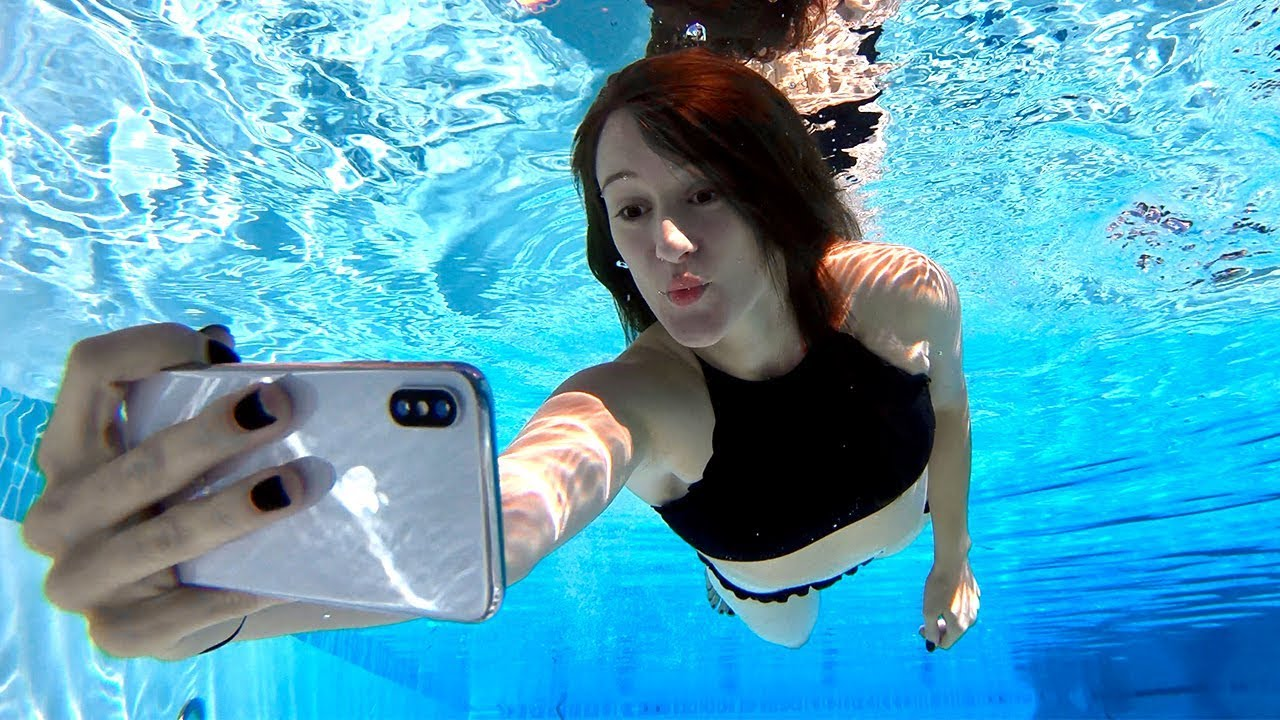 new concept 96019 cf8b0 iPhone X Underwater Face ID Test!