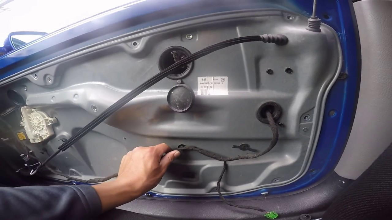 How To Open A Door That Wont Open On A Vw Golf Tdi Mk4