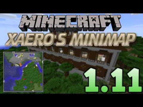 How To INSTALL Xaero's Minimap (With Forge) [Minecraft 1.11+]