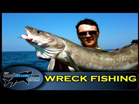 How to catch Ling from Wrecks - Totally Awesome Fishing Show