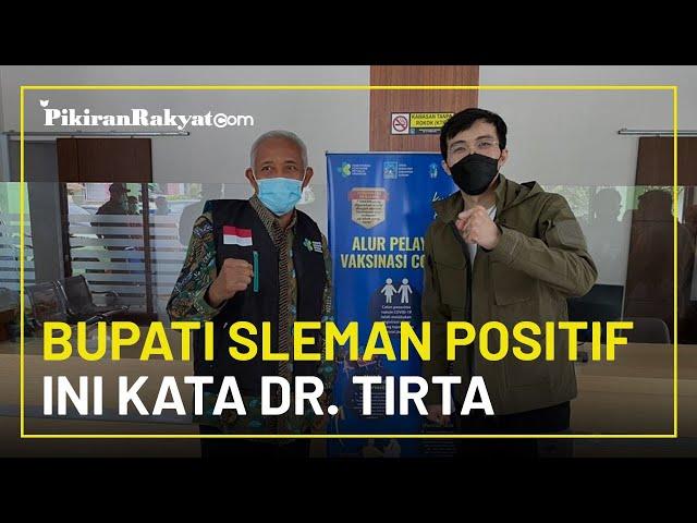 Soal Bupati Sleman Sri Purnomo Positif Covid-19 Meski Sudah Divaksinasi, Begini Penjelasan dr. Tirta