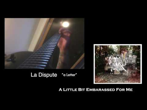 La Dispute - a Letter | Guitar Cover w/ Lyrics
