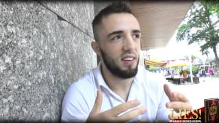 Valdet Gashi , ein Musim , ein Kämpfer der zum Islam zurück kam. .