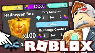 100 HALLOWEEN CRATE UNBOXING FOR A GODLY!! *5000 ROBUX!* (Roblox Murder Mystery 2)