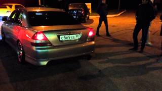 Toyota Mark II exhaust sound