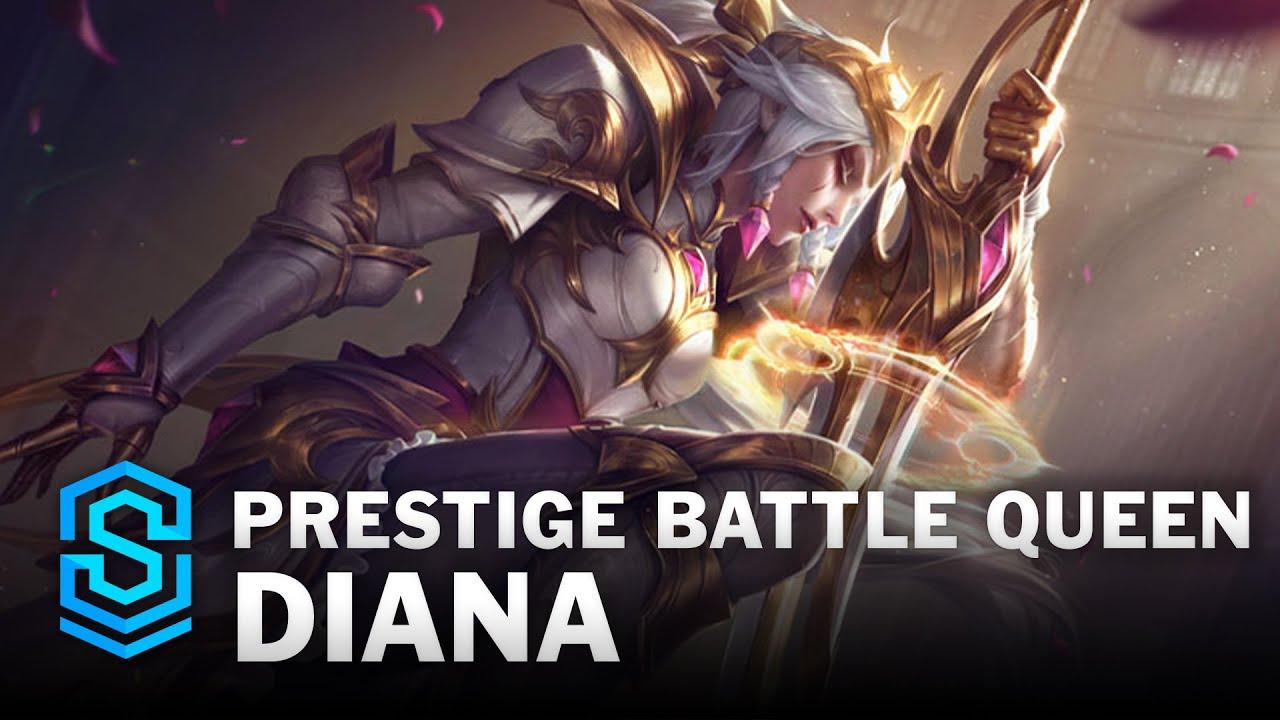 Prestige Battle Queen Diana Skin Spotlight - League of Legends