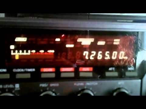 MV Baltic Radio 10 06 2012 7265 kHz 09 02 UTC