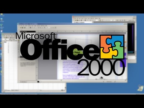 Microsoft Office 2000 (1999) - Time Travel