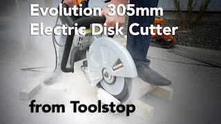 Evolution 12in 305mm Electric Disc Cutter from Toolstop