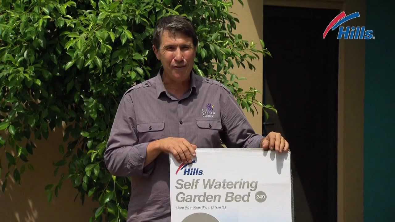 Beautiful Hills Self Watering Garden Bed Set Up