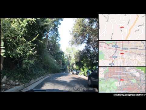 Beverly Ridge Drive (Studio City, Los Angeles, CA) to Van Nuys Boulevard