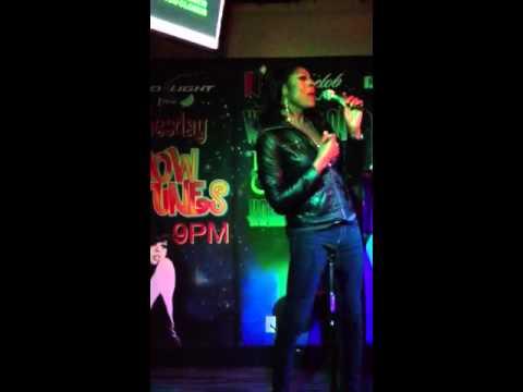 Jada Fox at Little Chalupa's Karaoke Show
