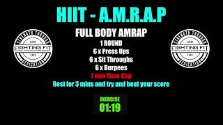 Week 15    HIIT AMRAP