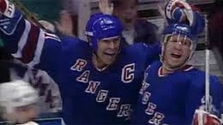 Mark Messier Guarantees Game 6 vs NJ Devils (from '94 NY Rangers Road to Victory)