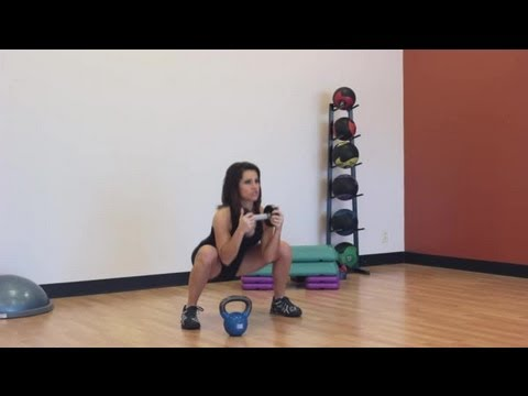 Squat Exercises With Weights That You Can Do Without Machines : Core Strength & Tone