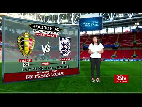 FIFA World Cup Stats Zone: Preview England vs Sweden