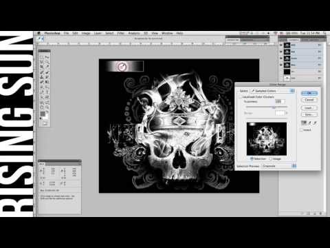 How To Separate Grayscale Images In Photoshop