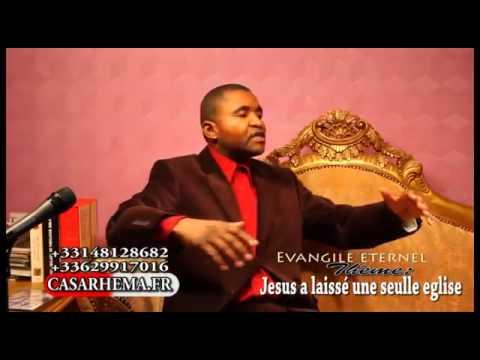 JESUS A LAISSE' 1 SEULE EGLISE (Dr. ODILON-MULENDA)