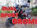 Honda Grom Mini Dual Sport!?! MSX125