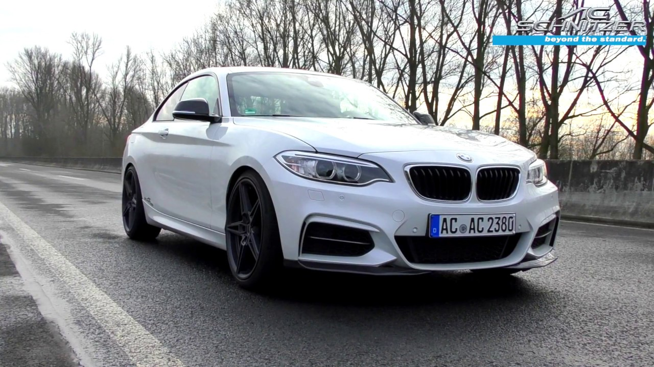 m240i by ac schnitzer export auspuff youtube