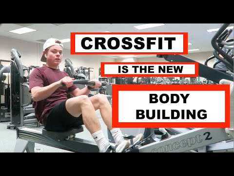 TRYING CROSSFIT FOR THE FIRST TIME (CrossFit in a Commercial Gym?!?)