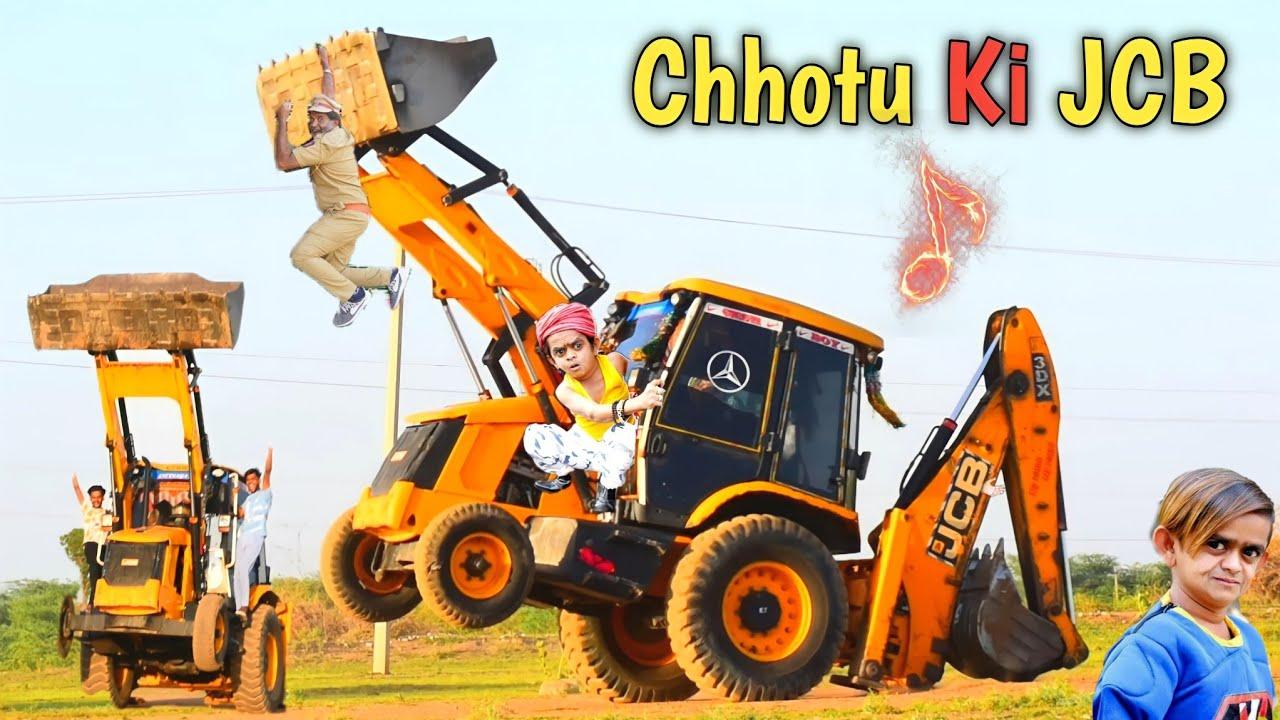 Chhotu Dada JCB Wala !! Chhotu Dada Ki JCB !! JCB Stunt !! JCB Dance  !! Lut Gaye Remix Song