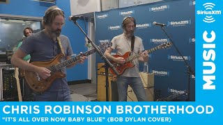 Chris Robinson Brotherhood stopped by the SiriusXM studios in New Y...