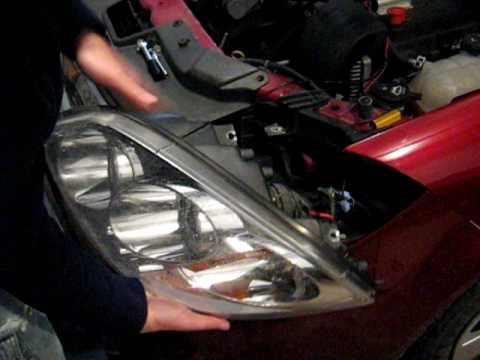 Chevrolet Cobalt Headlight Removal How-to - YouTube