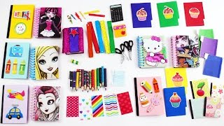 diy american girl doll school supplies simplekidscrafts