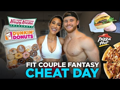 We Ate Everything We Wanted for 1 Day (Fantasy Fit Couple's Cheat Day)