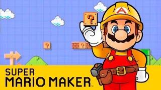 Super Mario Maker: Nintendo World Championship Levels