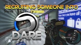 Obey Scarce: Recruiting Someone Into Dare! (How Differ Got Recruited)