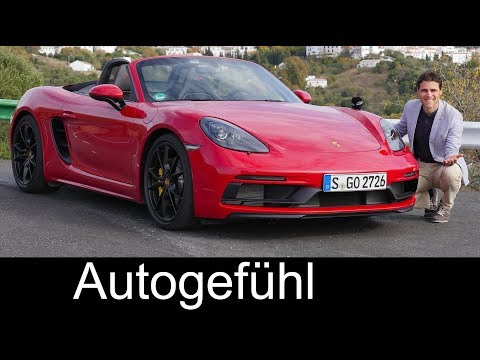 Porsche 718 Boxster GTS vs Cayman GTS FULL REVIEW comparison