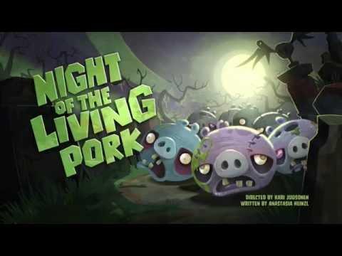 Злые птички Angry Birds Toons 1 сезон 33 серия Ночь живой свинины все серии подряд
