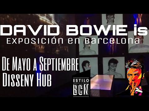 """La Exposición """"DAVID BOWIE is"""" llega a Barcelona del 25 de mayo al 25 de septiembre /// Disseny Hub"""