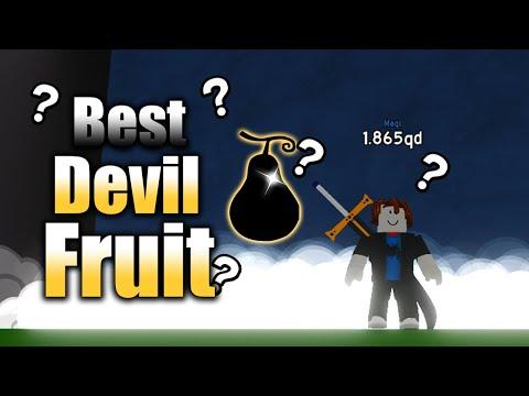BEST DEVIL FRUIT In Roblox Anime Fighting Simulator