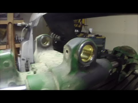 Building a boring bar for the horizontal mill and line boring