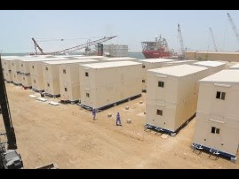 P335 - 16 portable accommodation units