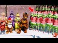 CAN THE ANIMATRONICS SAVE CHRISTMAS FROM THE GRINCH ARMY? (GTA 5 Mods FNAF Kids RedHatter)