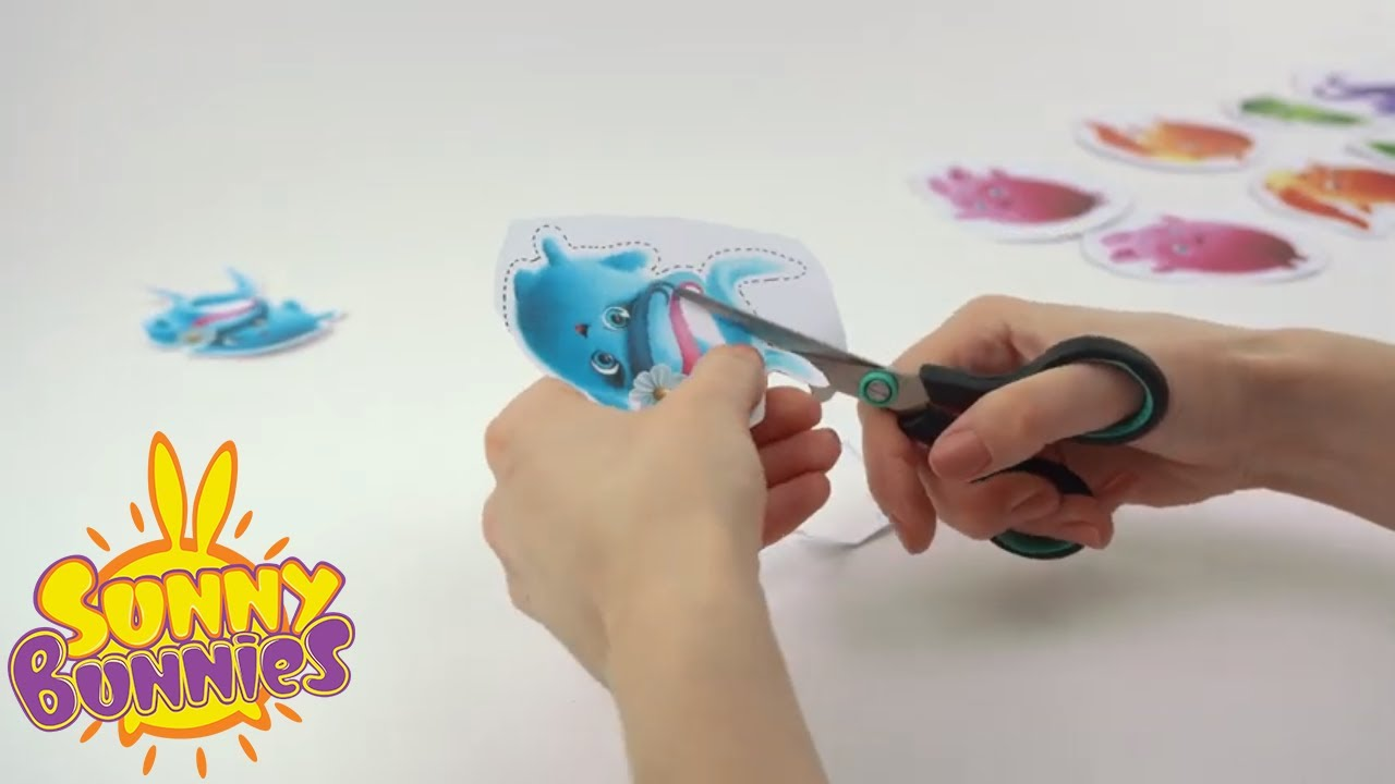 SUNNY BUNNIES - Making a Twiggy Mobile | GET BUSY Compilation | Cartoons for Children