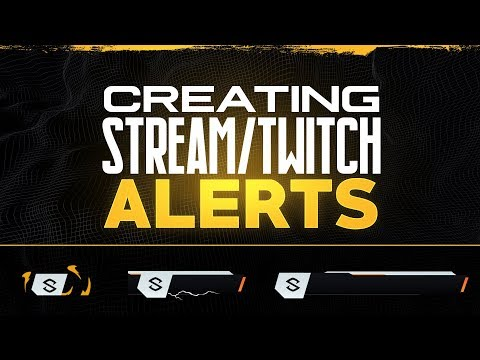 PS/AE Tutorial: Creating Animated Stream/Twitch Alerts