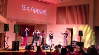 six appeal 500 miles the proclaimers cover live 9 21 13 a cappella