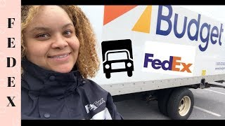 A Day In The Life Of A Fedex Delivery Driver! Vlogmas Day 1