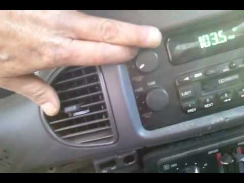 2002 Buick Century Dash Cer Mileage Fix 3 No Light